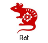 Rat Chinese zodiac sign