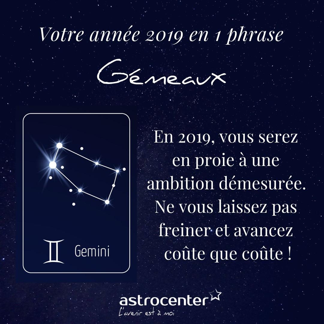 d809dc51c94ead Horoscope Gémeaux 2019 gratuit   une année prometteuse