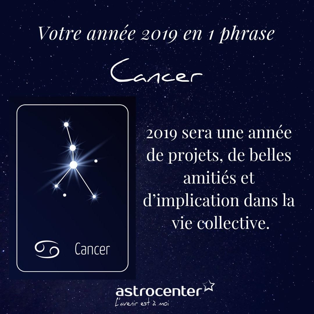 l horoscope du jour cancern