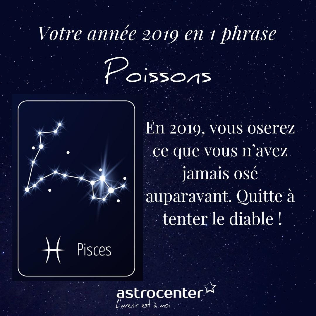 Horoscope Poissons 2019