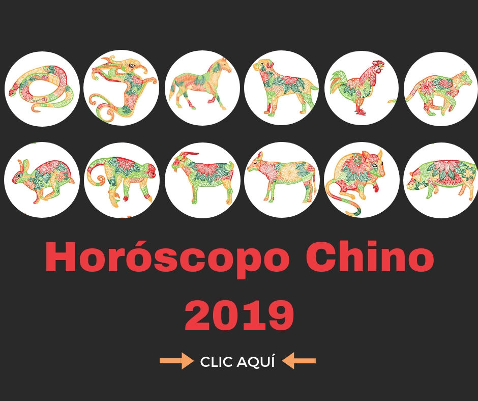horoscopo chino 2019