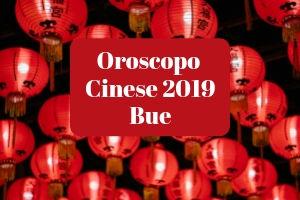 Oroscopo Cinese 2019 del Bue