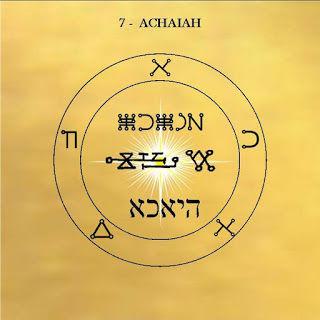pentacle Achaiah