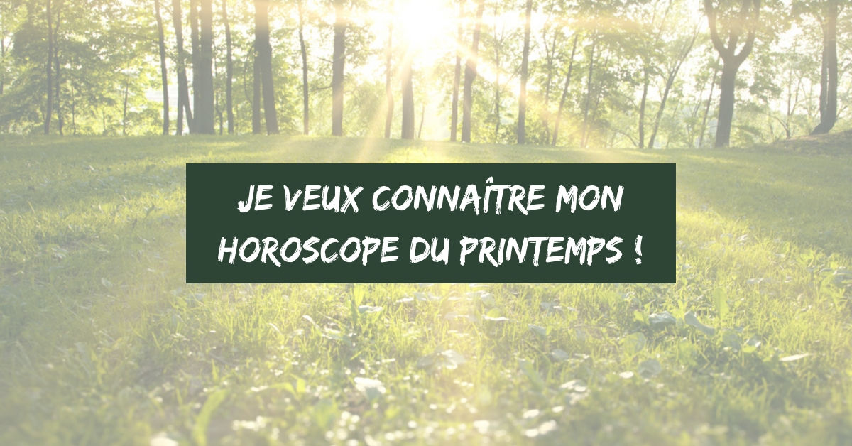 horoscope printemps 2019