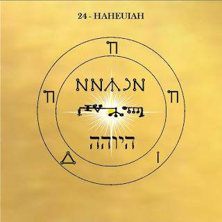 Le pentacle de Haheuiah