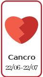 Affinità amorosa Cancro