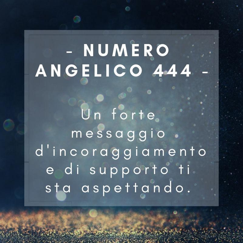 Numero angelico 444