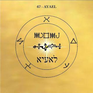 Le pentacle de Eyael