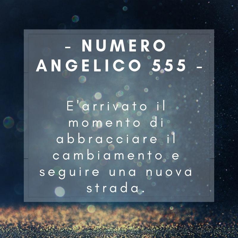 Numero angelico 555