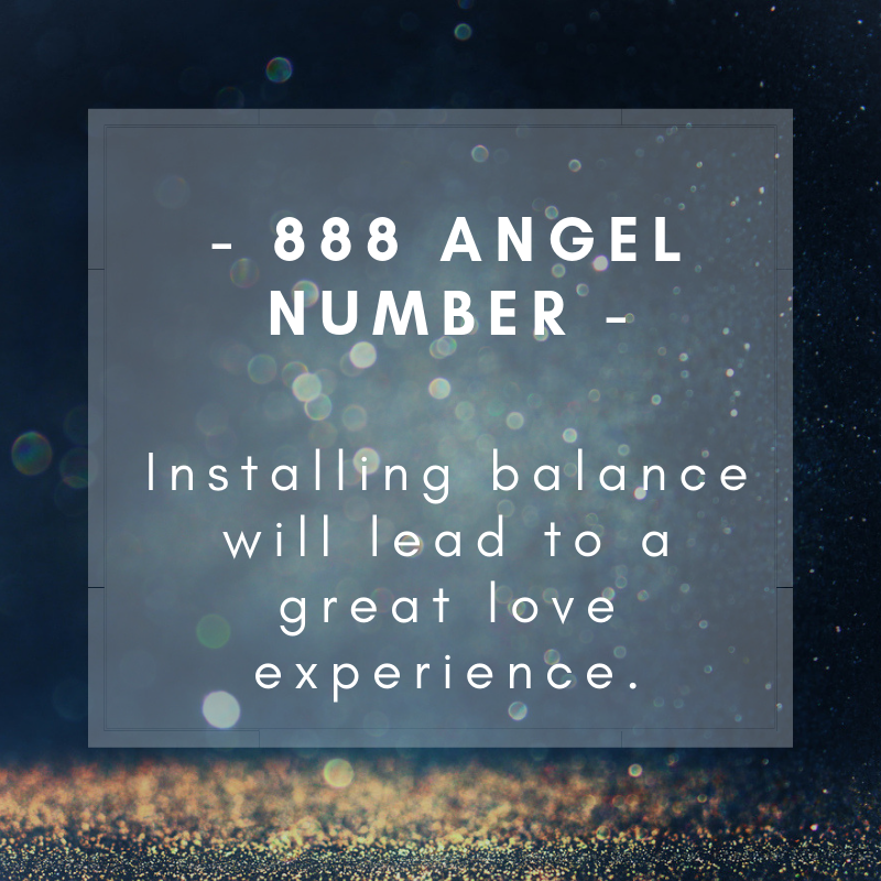 888 Angel number