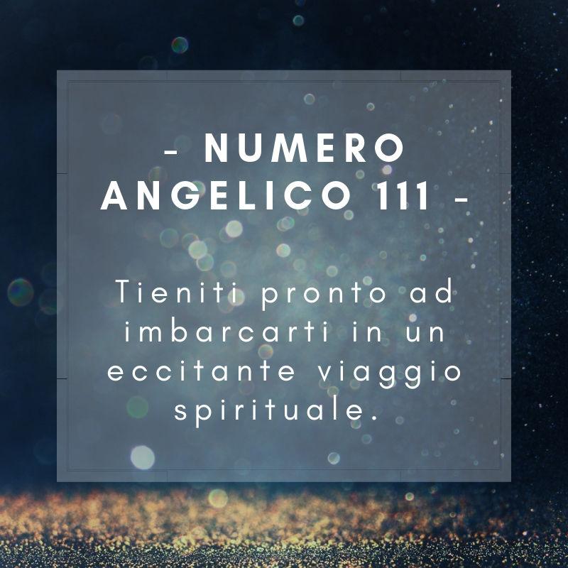 Numero angelico 111
