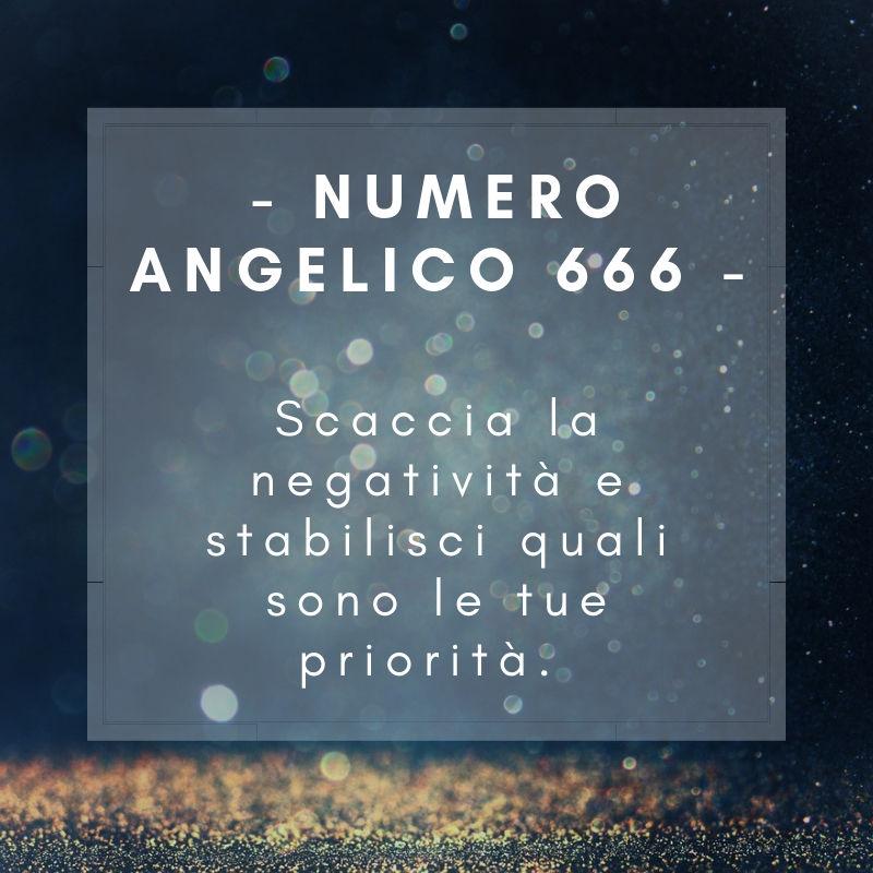 Significato numero angelico 666