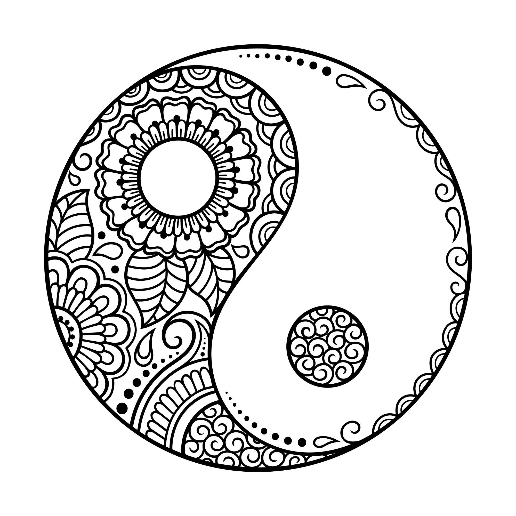 Mandala Yin e Yang