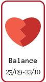 Compatibilité amoureuse Balance