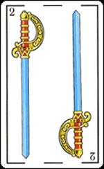 L'interpretazione del Due di Spade