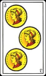 L'interpretazione del Tre di Denari