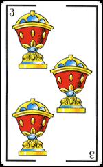 L'interpretazione del Tre di Coppe