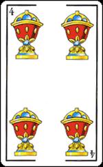 L'interpretazione del Quattro di Coppe