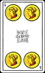 L'interpretazione del Quattro di Denari