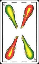 L'interpretazione del Quattro di Bastoni
