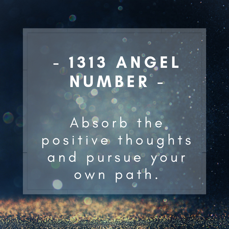 1313 Angel number