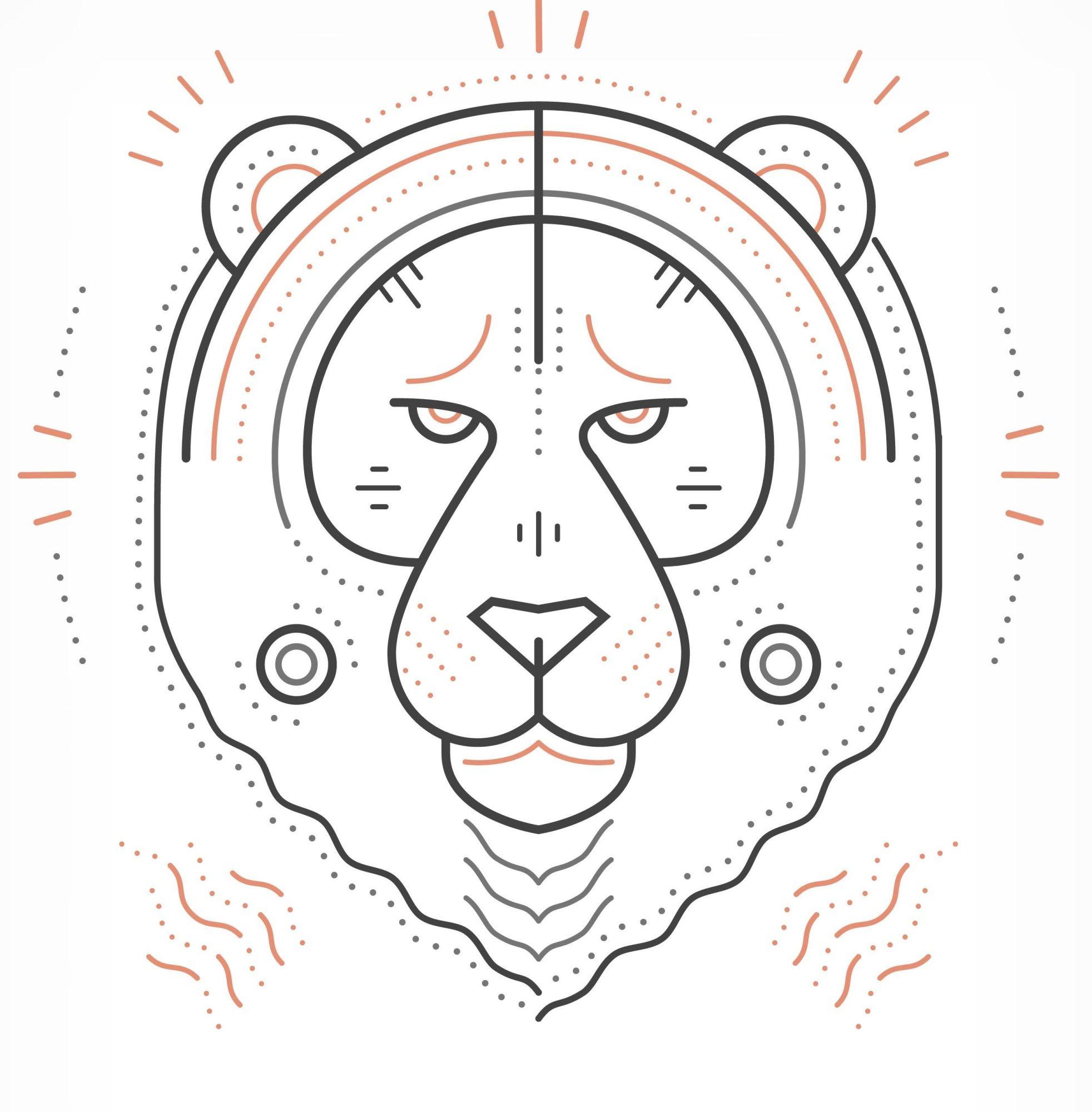 Tatouages Lion