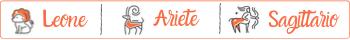 Segni di fuoco: Leone, Ariete, Sagittario