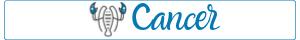 Cancer - unluckiest zodiac sign