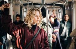 blonde bus