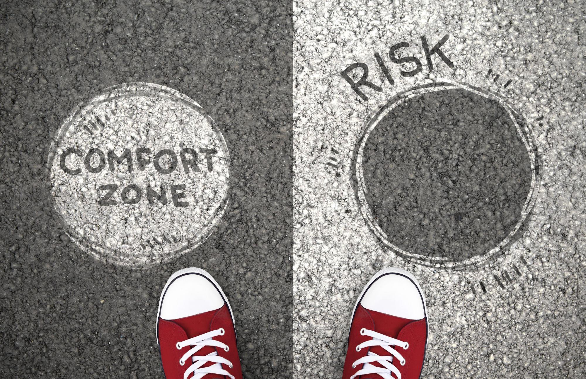 Uscire dalla comfort zone