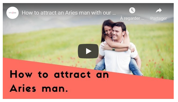 Video: Attract an Aries man