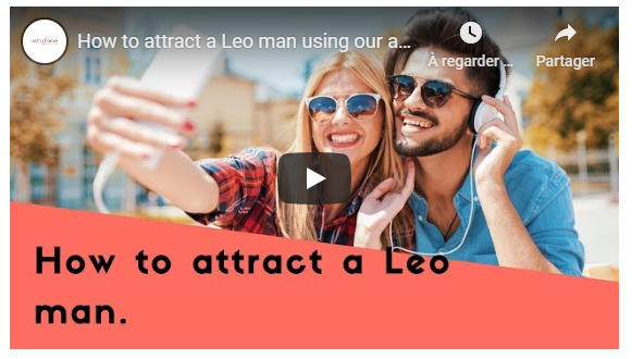 Video: How to attract a Leo man