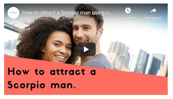 Video: How to attract a Scorpio man