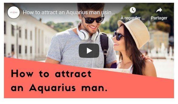Video: How to attract an Aquarius man