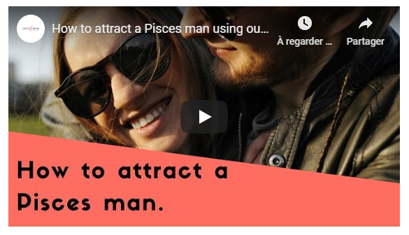 Video: How to attract a Pisces man