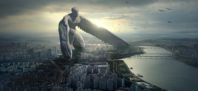 Forza e potenza di un angelo