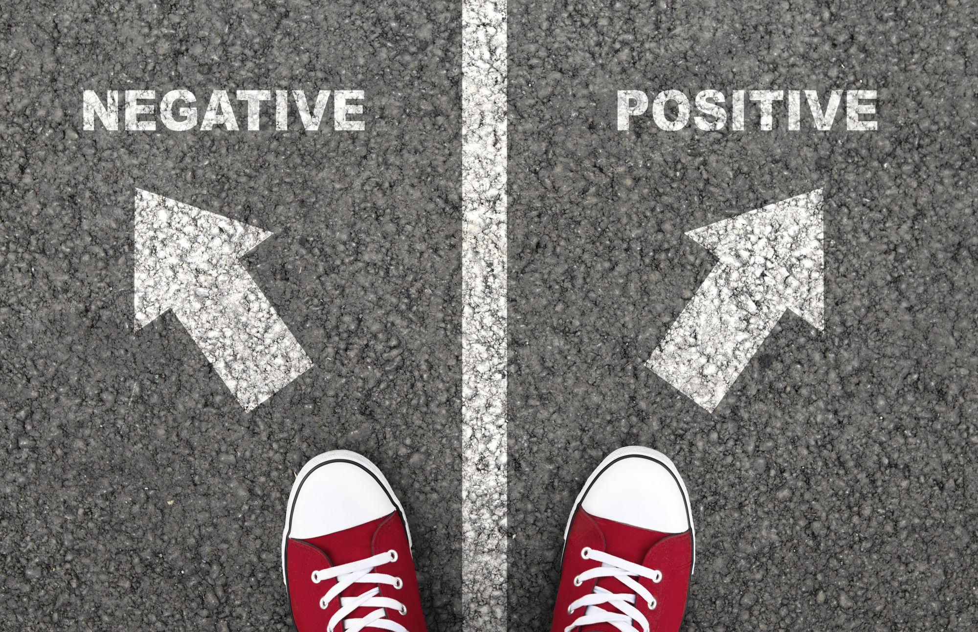 camino positivo negativo