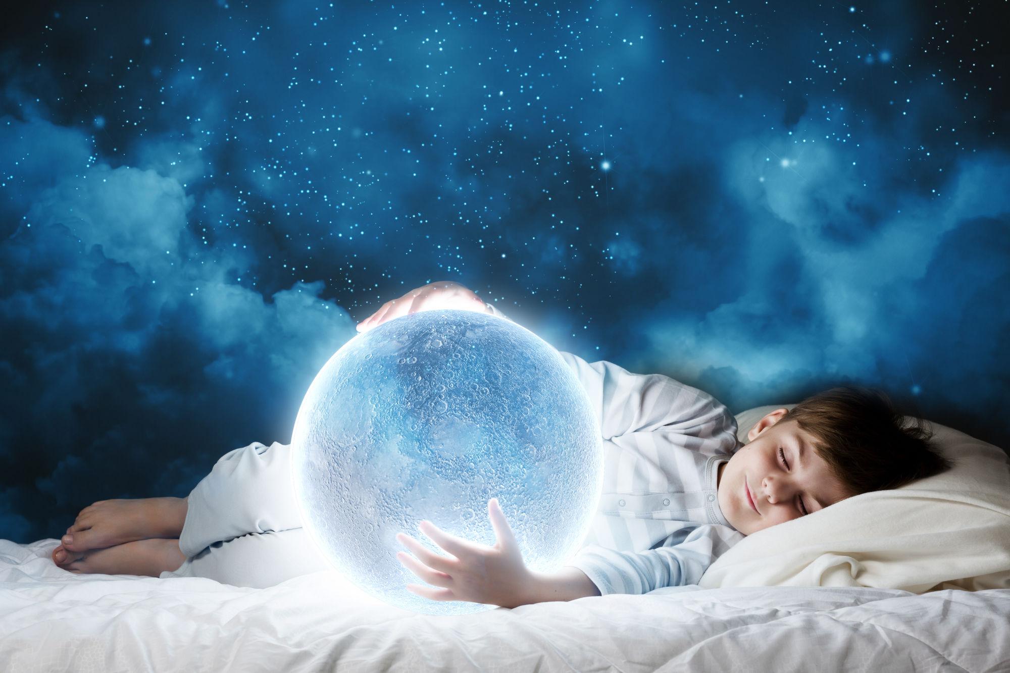 niño soñando