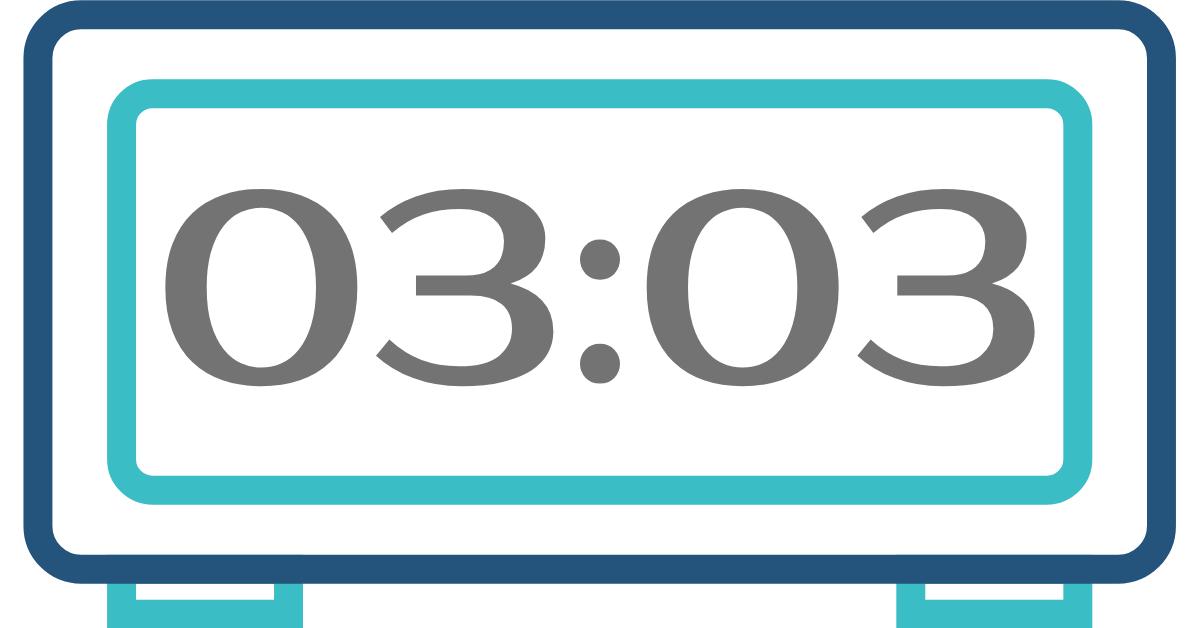 hora invertida 03:03
