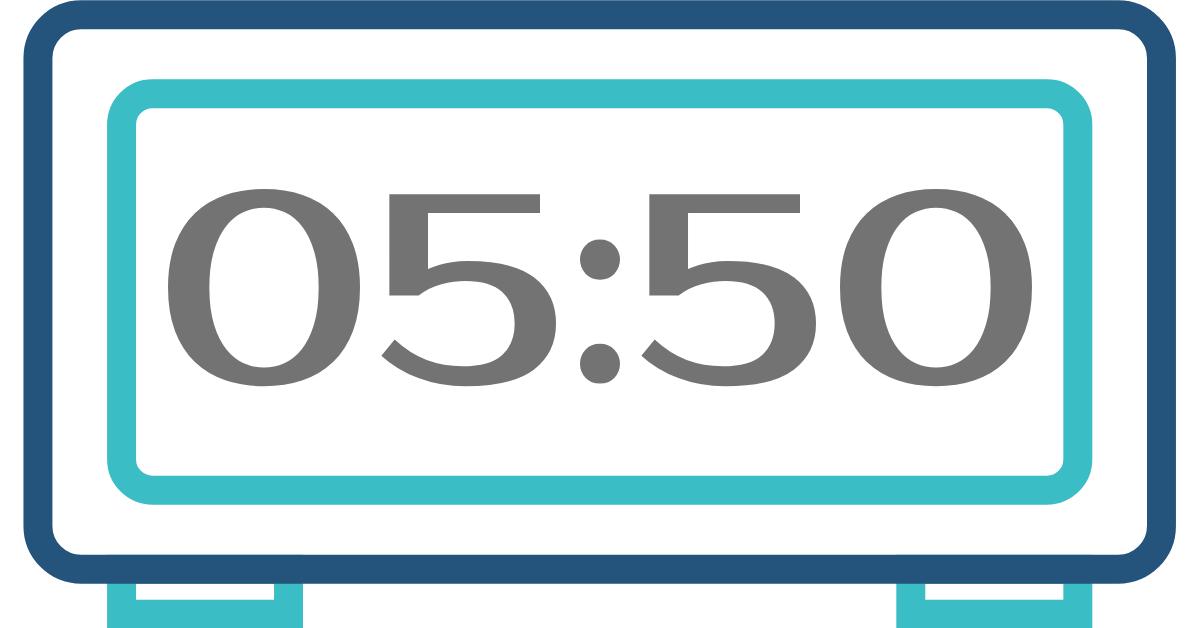 hora inversa 05:50