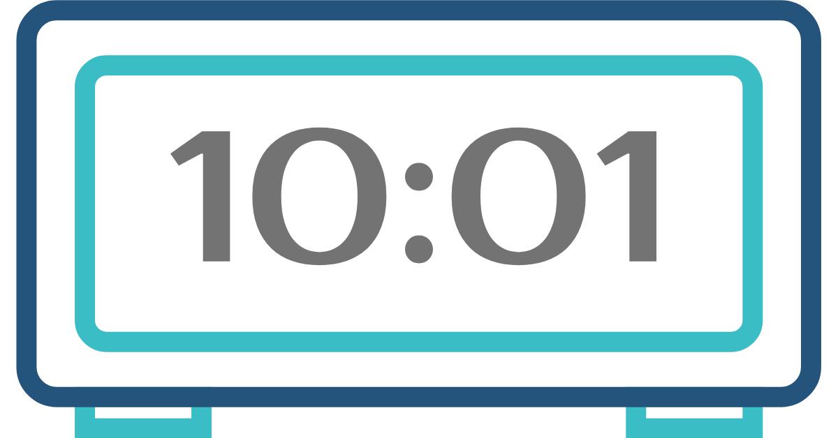 hora inversa 10:01