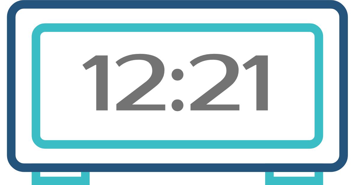 hora inversa 12:21