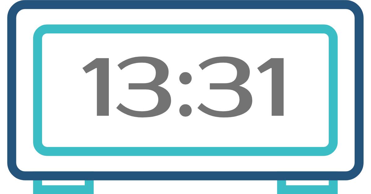 hora invertida 13:31