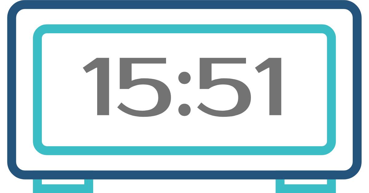 hora inversa 15:51