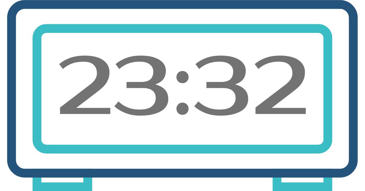 hora inversa 23:32