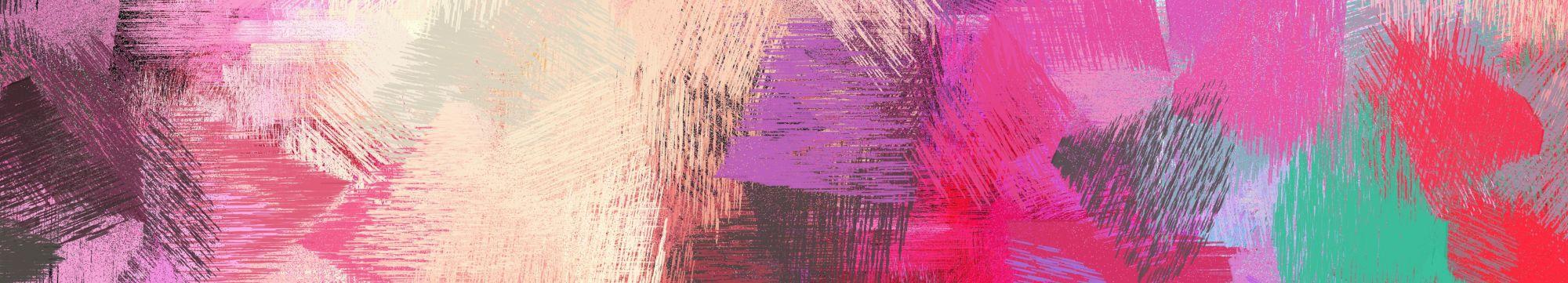 diferentes tonos de rosa y morado