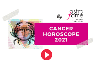 Cancer 2021 horoscope video