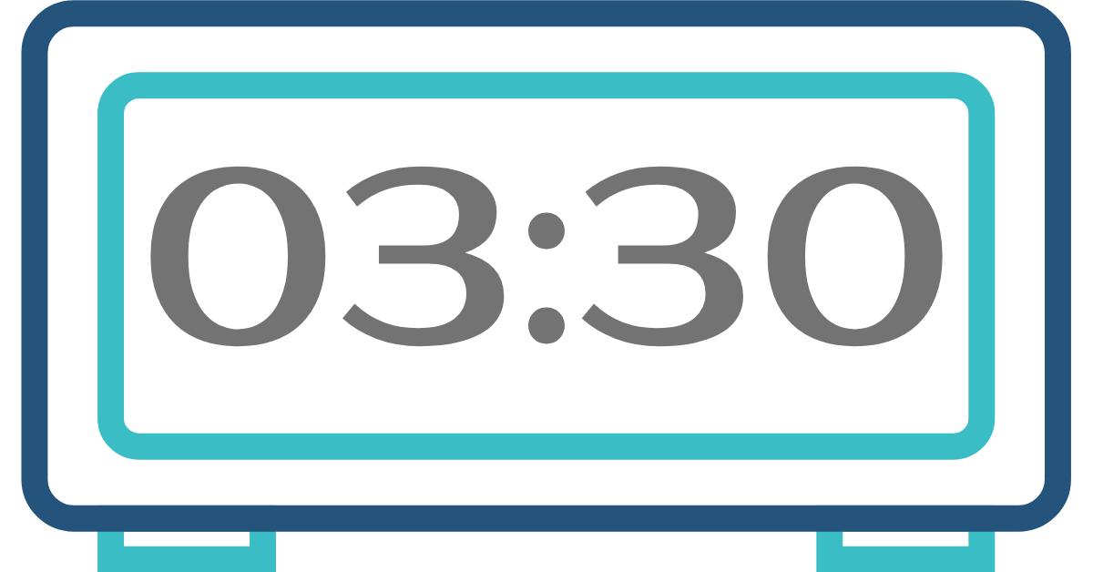 hora inversa 03:30