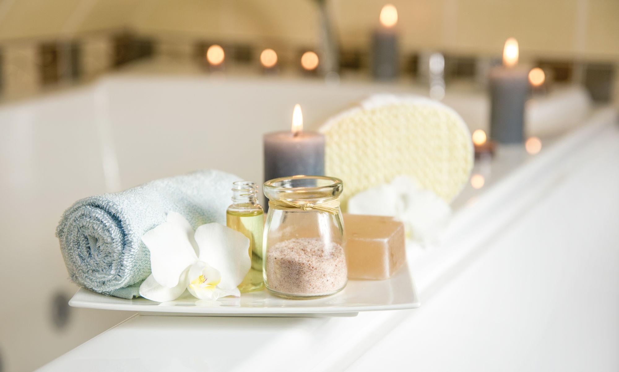 ritual en el baño