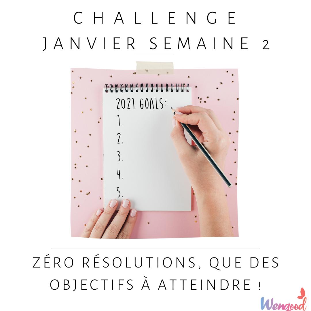 challenge de décembre